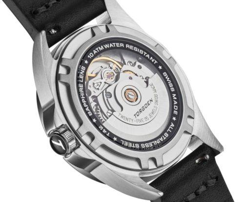 Swiss-made Torgoen watch wiht automatic caliber