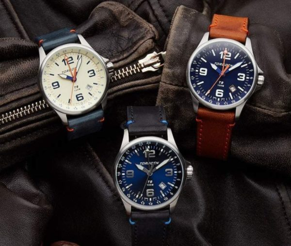 Torgoen watches with large dials and bold fonts