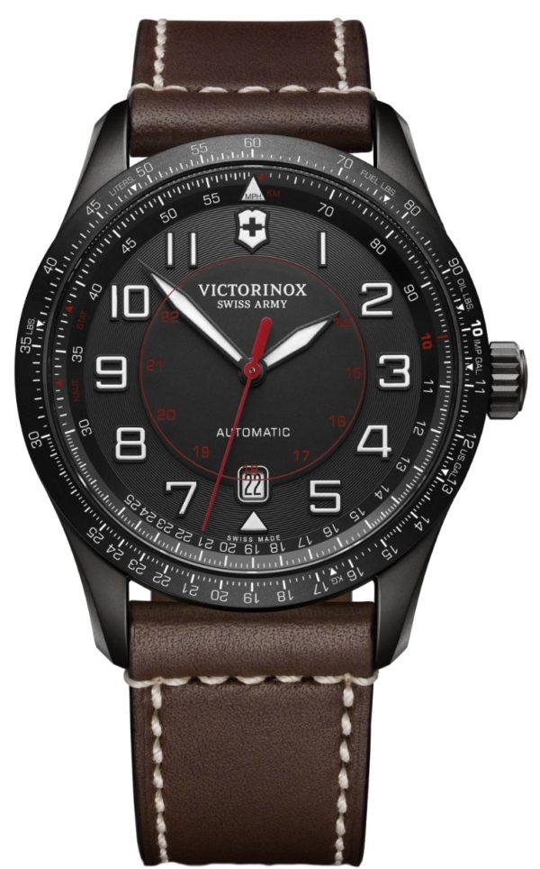 mechanical movement Victorinox pilot watch