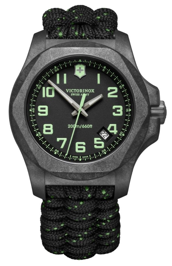Victorinox watch review on carbon covered watches