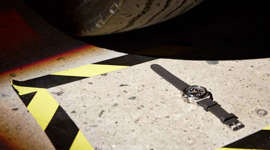 Victorinox watch tests for durability
