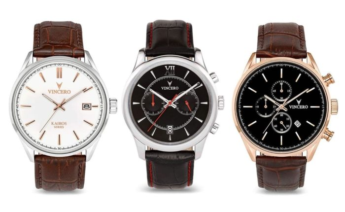 Vincero among the fashion watch brands