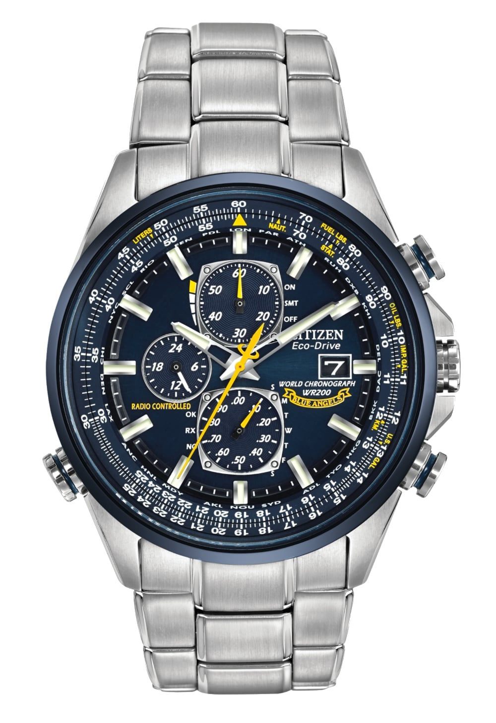 Citizen watch review on atomic timekeeping World Chronograph A-T